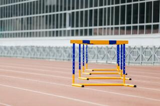 hurdles-at-stadium-P7TQA8S.jpg